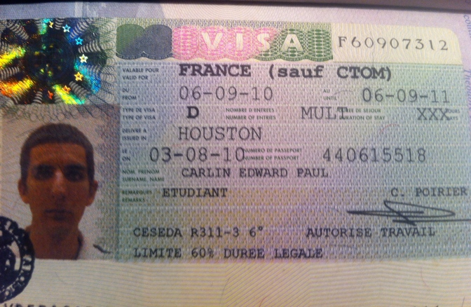 French student visa