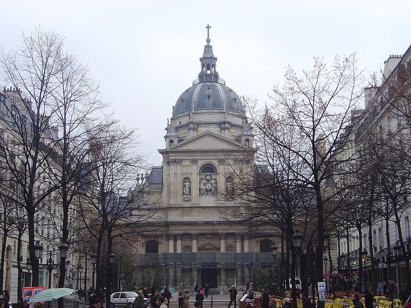 La Sorbonne Stock Wikimedia Commons