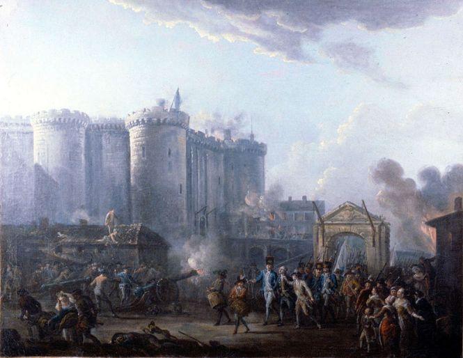 Arrestation du gouverneur de la Bastille - Jean-Baptiste Lallemand